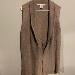 Max studio wool blend xl sweater vest